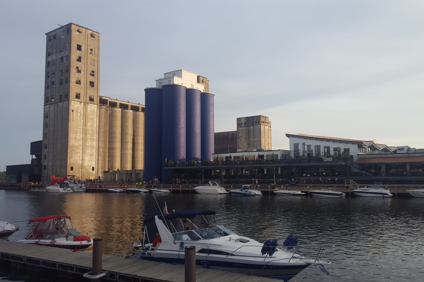 Buffalo RiverWorks from Riverfest Park