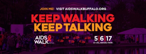 AIDS Walk Buffalo | Keep Walking Keep Talking | Succulents and Sunnies
