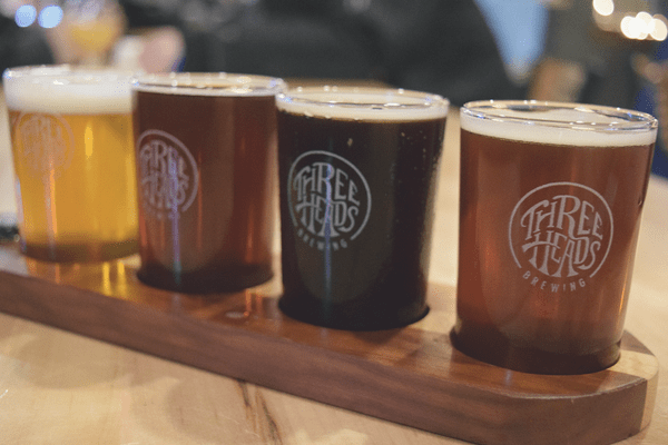 24 Hours in Rochester, NY | Three Heads Brewing | Neighborhood of the Arts