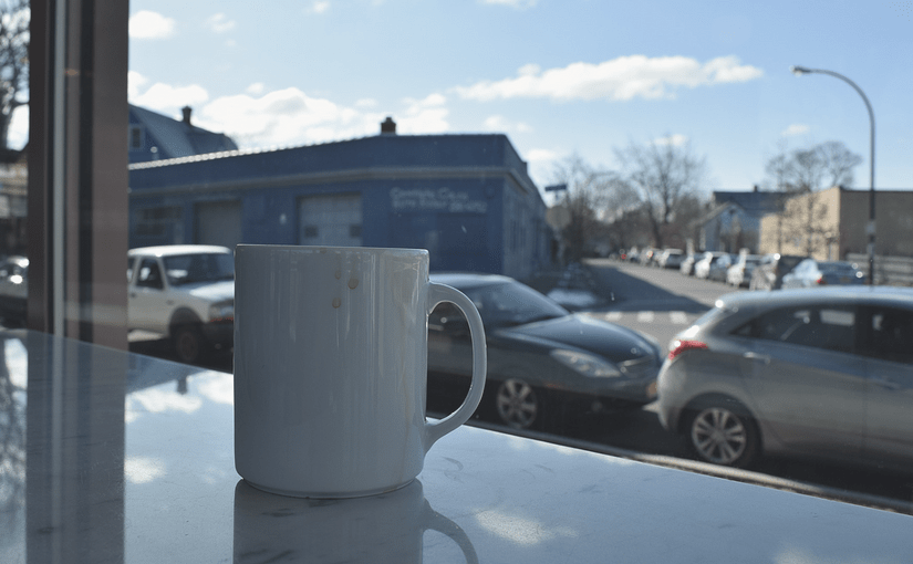 A Saturday Morning Coffee Date in Five Points