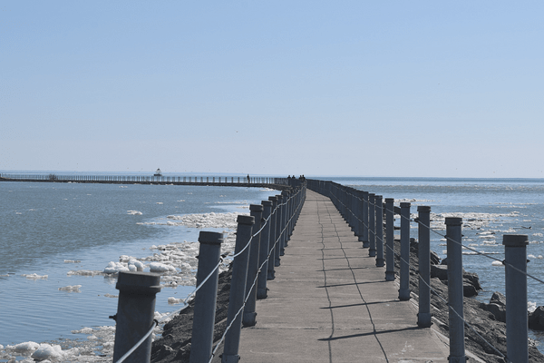 Get Outside in Buffalo, NY | Bird Island Pier