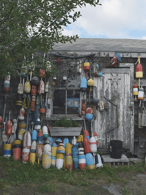Fishing Shack in Rockport, Massachusetts