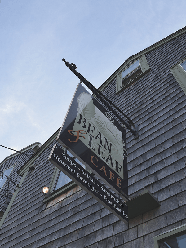Bean & Leaf Cafe, Rockport, Massachusetts