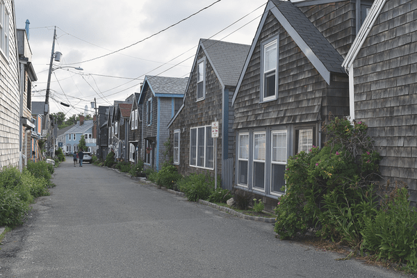 Cottages in Rockport, Massachusetts