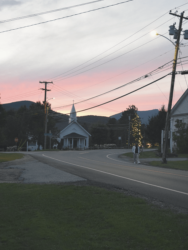 Sunset, Stowe, VT