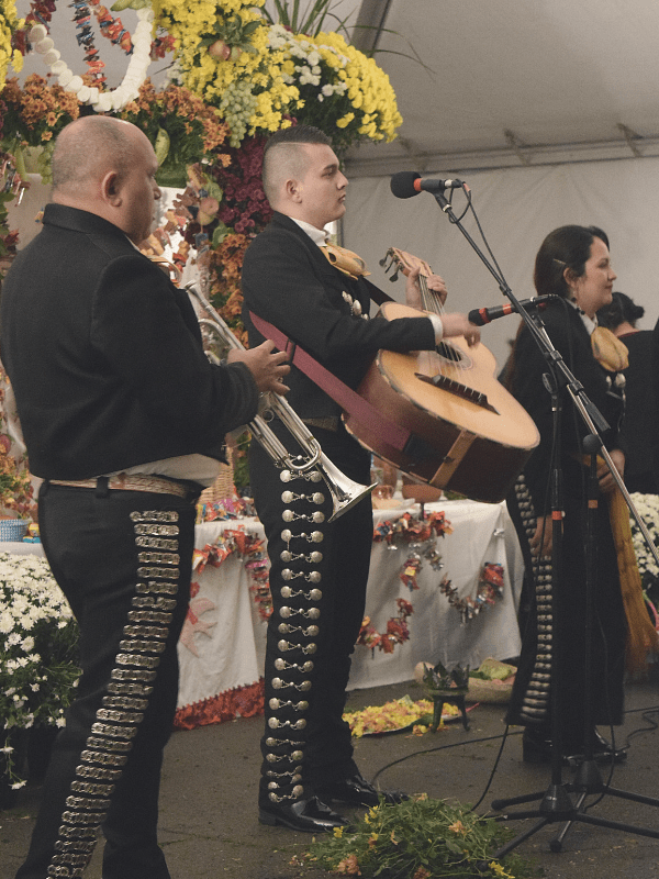 Mariachi Band Zelaya at Day of the Dead, Medina, NY