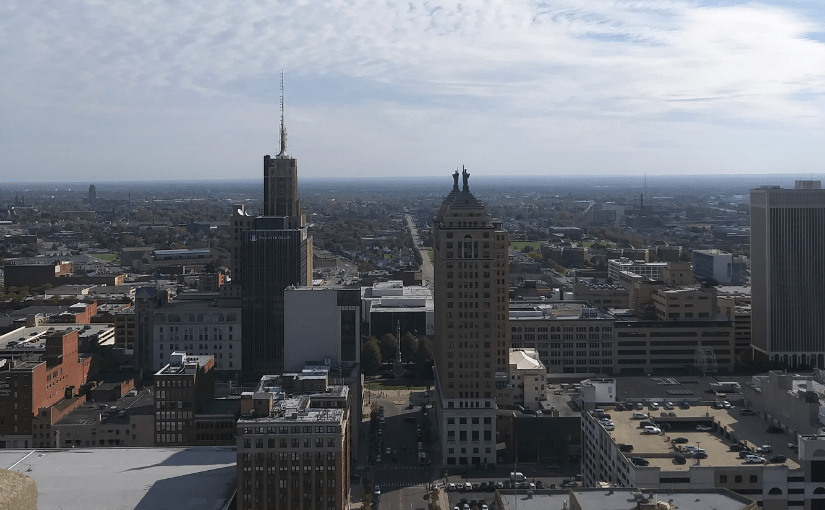 View of Buffalo from City Hall Observation Deck