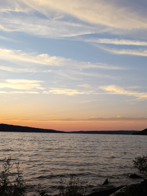 48 Hours in Ithaca, NY | Insider's Guide | Sunset at Stewart Park