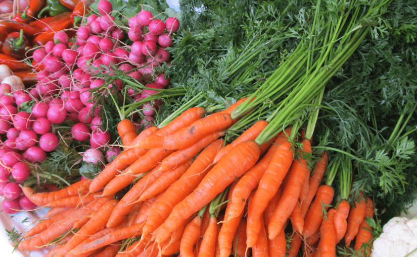 Farmers' markets help consumers waste less