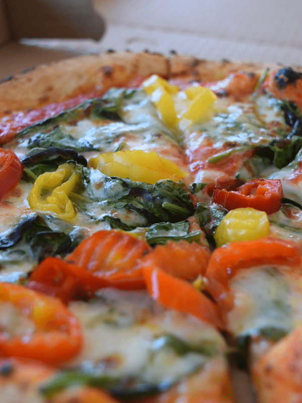 Pizza from Knead HBG in the Broad Street Market