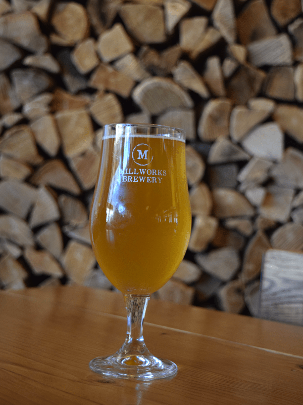 Gose at Millworks Brewery in Harrisburg