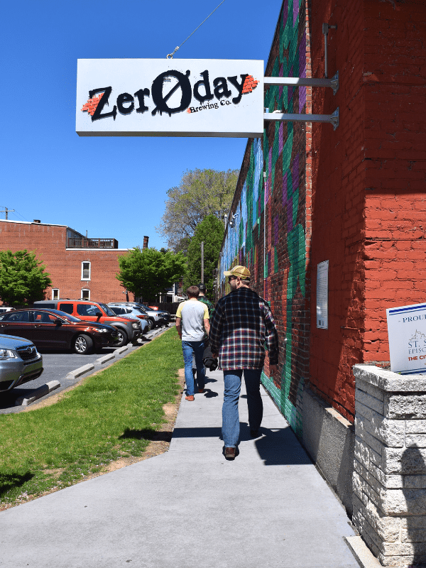Walking into Zeroday Brewing