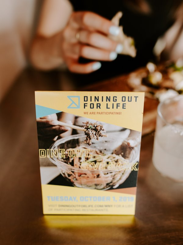 Dining Out For Life at Casa Azul